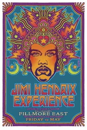 Jimi Hendrix Woodstock Posters