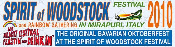 Woodstock 2010 Mirapuri Italy